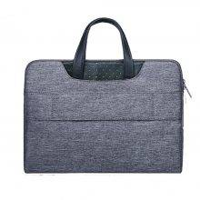 Slim Laptop Briefcase with Hidden Hand Belt for Macbook Air Pro